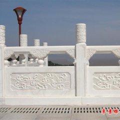 汉白玉栏板雕塑