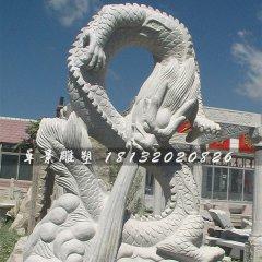 公园景观大理石龙雕塑