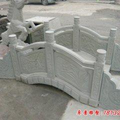 公园大理石小桥雕塑