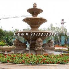 狮子欧式喷泉石雕