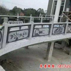 大理石公园桥梁栏板