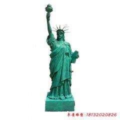 玻璃鋼仿銅景區景點自由女神像
