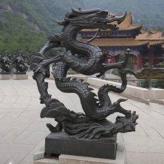 銅龍雕塑,青龍銅雕