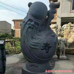 大理石抽象福禄寿神像雕塑