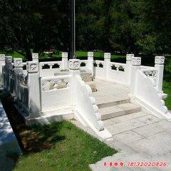 汉白玉校园升旗台雕塑