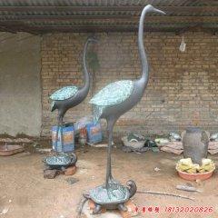 铸铜龟鹤延年