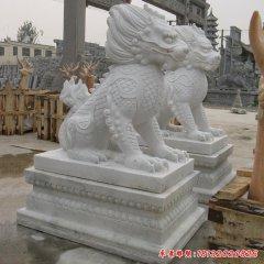石雕招財麒麟雕塑