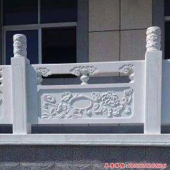 汉白玉走廊栏板石雕