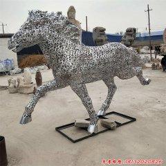 不锈钢镂空奔马