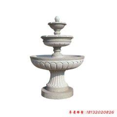 大理石简约三层喷泉