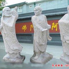 宗教廟宇18羅漢佛像