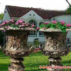 铜雕欧式花钵