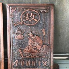 校園古代六藝銅浮雕
