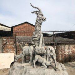 廣場景區五羊石雕