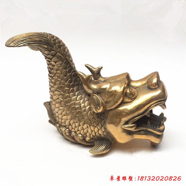龙生九子螭吻铜雕