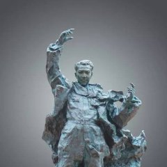 青铜冼星海雕塑