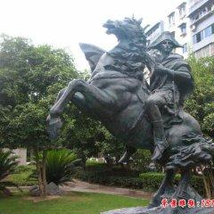 铜雕拿破仑