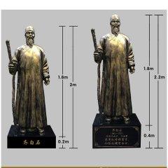铜雕齐白石