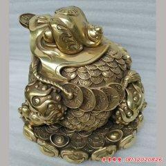 铜雕招财进宝金蟾