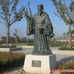 校园王羲之铜雕