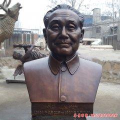 銅雕鄧小平胸像