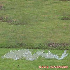 不锈钢镂空蝴蝶雕塑
