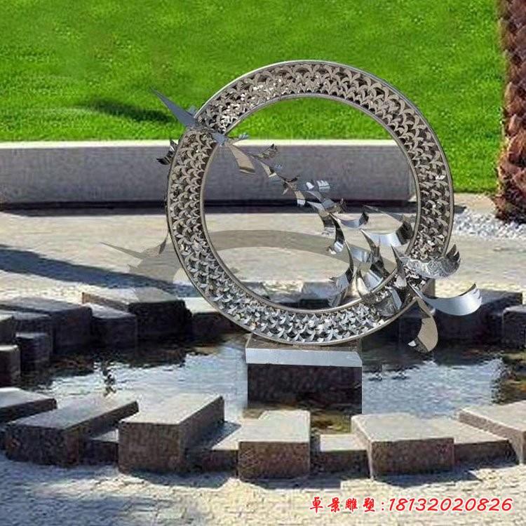 不锈钢动物大雁雕塑