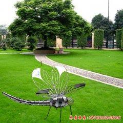 不锈钢蜻蜓雕塑