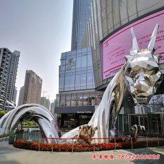 不锈钢大型龙雕塑