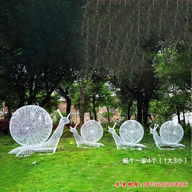 不锈钢蜗牛雕塑