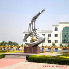 不銹鋼企業標志雕塑