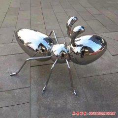 廣場大型不銹鋼螞蟻雕塑