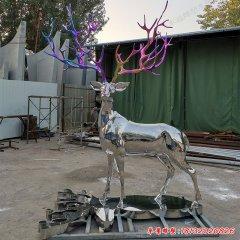 不锈钢园林动物鹿