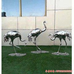 不锈钢动物仙鹤