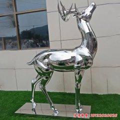 不锈钢公园切面小鹿