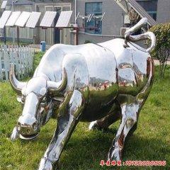 公園不銹鋼動物牛