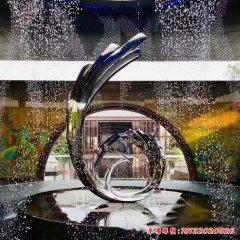 城市创意喷泉不锈钢