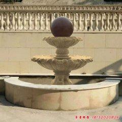 广场喷泉石雕