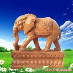 园林如意石雕大象
