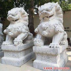 仿古狮子石雕
