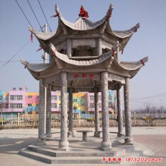 广场大型建筑凉亭石雕