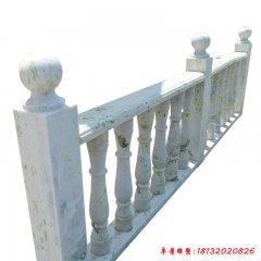公园栏杆石雕