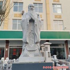 石雕校园礼仪孔子