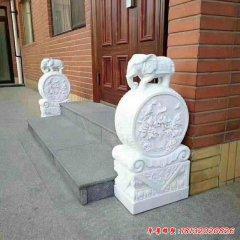 大象门墩石雕