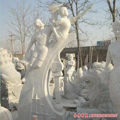 校园人物石雕