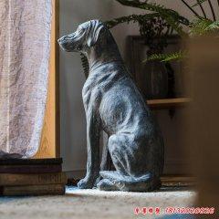 庭院動物石雕狗