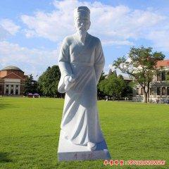 古代李时珍人物石雕