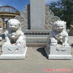 石雕做旧看门狮子