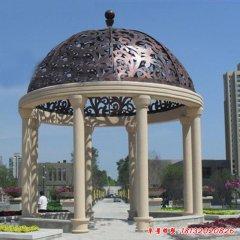 公园欧式凉亭石雕