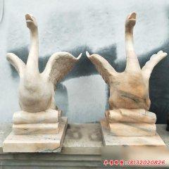 园林动物石雕喷泉